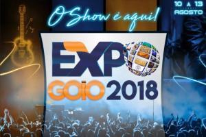 A diretoria da Sociedade Rural apresenta o cartaz oficial da Expo-Goio 2018