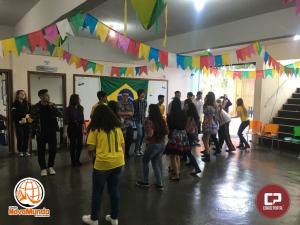 O Colégio Novo Mundo, realizou uma gincana cultural, filantrópica e recreativa