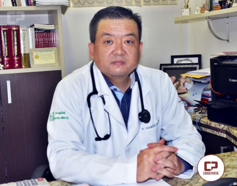 Dr. Maurício Sagava defende o tratamento precoce contra o coronavírus