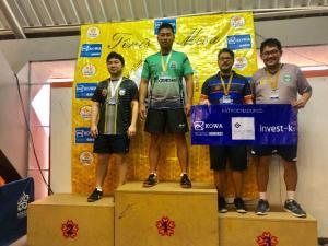 Atletas goioerenses conquistam medalhas no Campeonato Paranaense de Tênis de Mesa