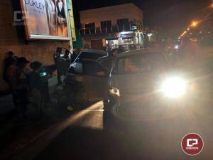Acidente no cruzamento da 19 de Agosto com Tiradentes deixa duas pessoas feridas