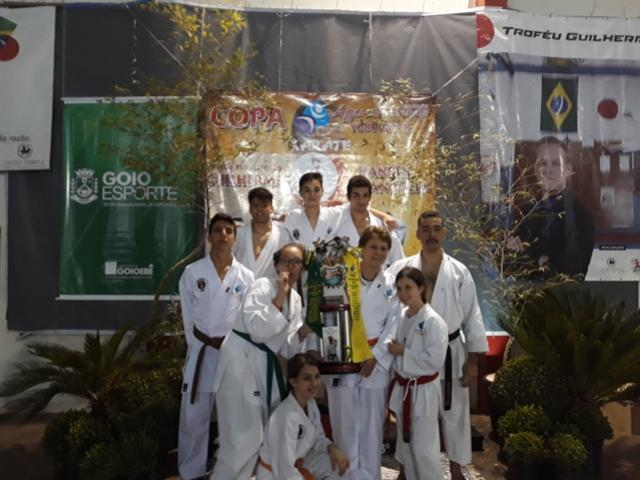 Coroada de êxito foi a CopaÁguas ClarasTroféu Transitório GuilhermeHansen Mangolin