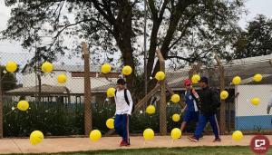 Setembro Amarelo chega a Goioerê decorando a cidade com balões