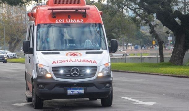 Jovem é socorrido após sofrer uma descarga elétrica em Cruzeiro do Oeste