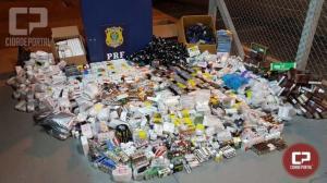 PRF apreende 63 toneladas de drogas no Paraná em 2019 e bate recorde histórico