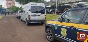 PRF apreende mais de mil celulares na região de fronteira do Paraná