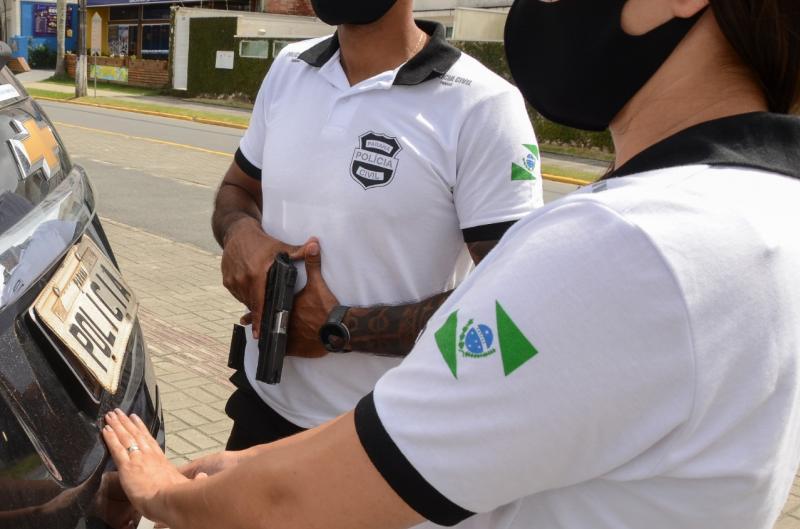 PCPR prende suspeito de feminicídio menos de 12 horas após o crime em Paranaguá