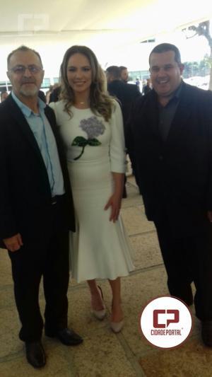 Vice-Prefeito Ernani Leite prestigia posse da Cida Borgueti ao Governo do Estado do Paraná