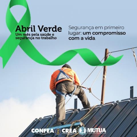 """""""Abril Verde"""" reforça cuidados com a segurança do trabalhador em meio à pandemia"""
