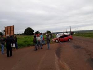 Grave acidente em Rancho Alegre D' Oeste deixa variás pessoas feridas