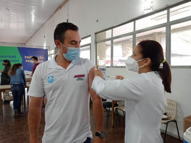 Vacinação em Goioerê amplia para pessoas com 57 anos e outros profissionais