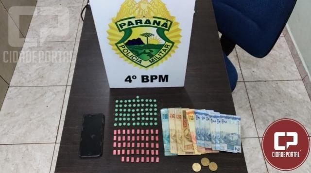 Polícia Militar prende indivíduo por tráfico de drogas em Maringá