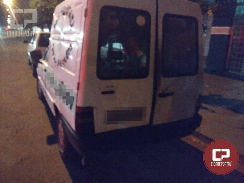 Polícia Militar recupera veículo tomado de assalto de empresário Goioerense neste domingo, 07