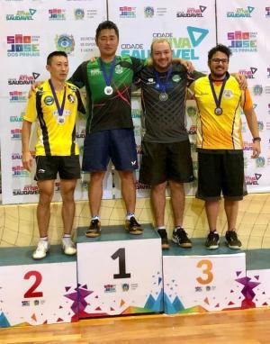 Goioerense conquista lugar mais alto do pódio na 3ª etapa do Paranaense de Tênis de Mesa
