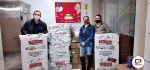 Prefeito Pedro Coelho acompanha recebimento de condicionadores de Ar para a Educação