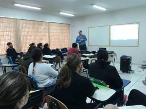 Polo UAB realizou encontro presencial com Acadêmicos de Educação Física