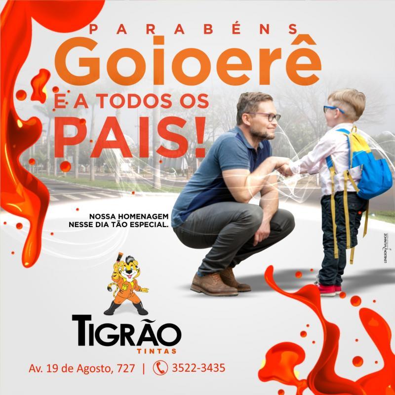 A equipe Tigrão Tintas deseja a todos um Feliz Dias dos Pais!
