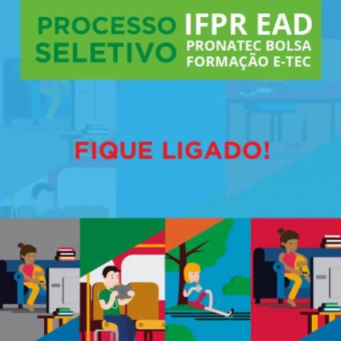 O IFPR comunica os dias e horários de matrículas para os cursos EAD
