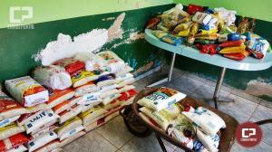 5º Jogo beneficente arrecadou 700 kg de alimentos para entidades de Goioerê