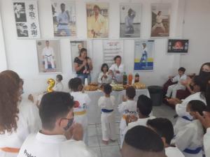 Academia Nintai de Karatê Tradicional de Goioerê promoveu curso técnico em comemoração aos seus 2 anos