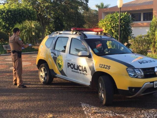 Polícia Militar prende mulher com mandado de prisão em aberto no município de Diamante do Norte