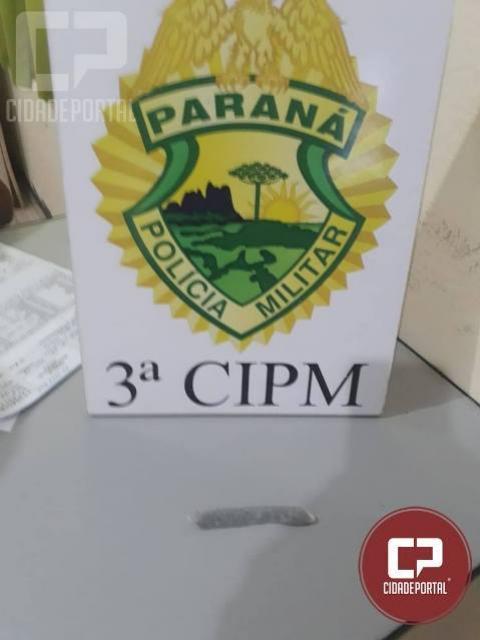 Polícia Militar da 3ª CIPM apreende entorpecente e encaminha 3 pessoas em Diamante do Norte