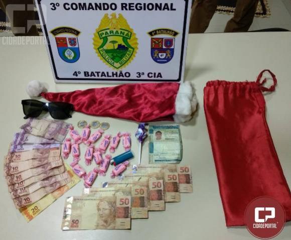 Policia Militar em Itambé apreende nota falsa e prende uma pessoa suspeita