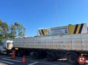 PRE de Cruzeiro do Oeste apreende mais de 2 toneladas de maconha