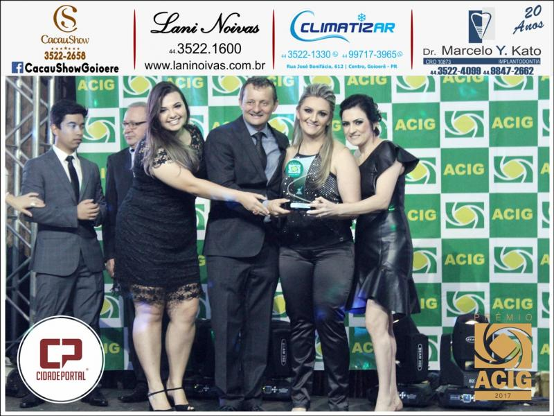 Cacau Show é indicada ao prêmio Acig - melhores do ano 2017 - Melhor Chocolate Fino