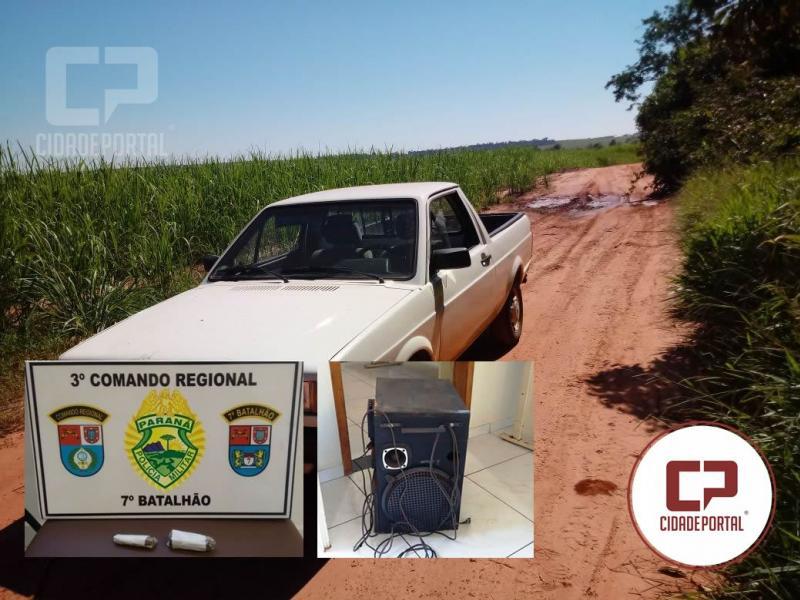 Policiais do 7º BPM apreendem drogas e recuperam objeto e veículos roubados neste fim de semana