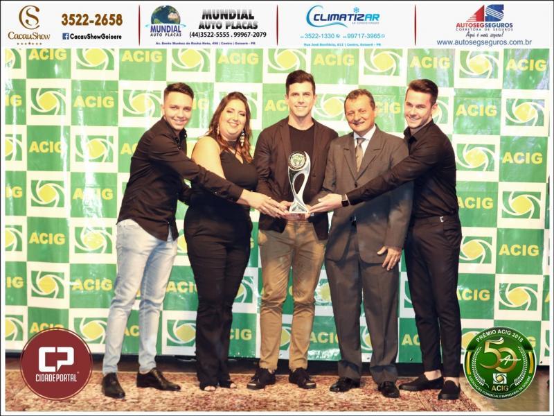 Adamanto Store foi indicada ao Prêmio ACIG - Melhores do Ano de 2018
