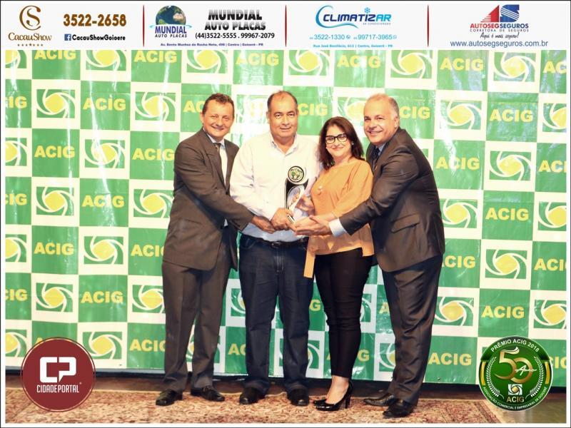 Alpha Comunicação recebe Prêmio ACIG - Melhores do Ano de 2018