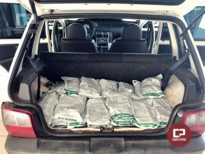 Polícia Rodoviária Estadual de Iporã apreende veículo com veneno contrabandeado