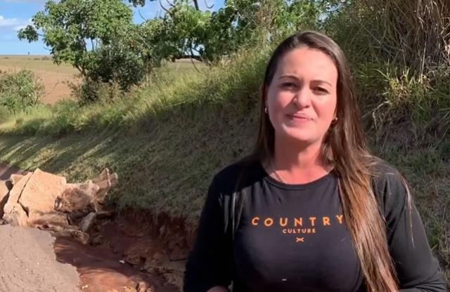 Vereadora de Rancho Alegre do Oeste pede atenção a rodovia PR-472