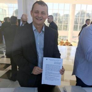 Pedro Coelho anunciou novas conquistas para Goioerê durante viagem á Curitiba