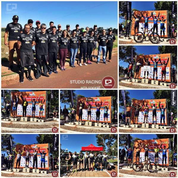 Equipe de Ciclismo Goioerense conquista 6 pódios em Etapa disputada neste final de semana