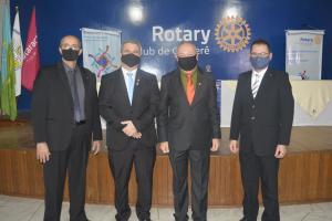 ANO ROTÁRIO 2020-21:Rotary Club de Goioerê e clubes satélites empossaram presidentes