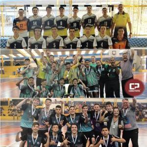 Colégio Estadual Antonio Teodoro Oliveira sagrou-se campeã na fase final dos JEPS
