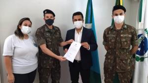 Prefeito Betinho Lima toma posse como Presidente da Junta Militar