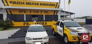 Jovem de 26 anos de Campo Mourão foi preso pela PRE de Iporã com 29 kg de maconha embalada a vácuo