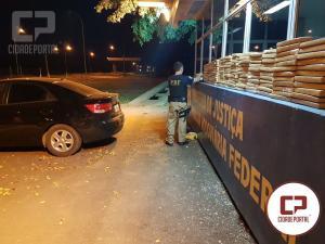 PRF apreendeu 53 toneladas de drogas no Paraná em 2017