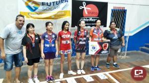 Atletas de Tênis de Mesa Águas Claras ficam em terceiro lugar no regional de Cruzeiro do Oeste