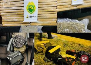 PRE apreende menores por tráfico de drogas em Cruzeiro do Oeste
