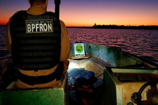 BPFron completa oito anos de combate ao tráfico de drogas e ao contrabando