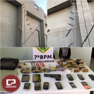 7º BPM prende fugitivo da Penitenciaria Estadual de Cruzeiro do Oeste