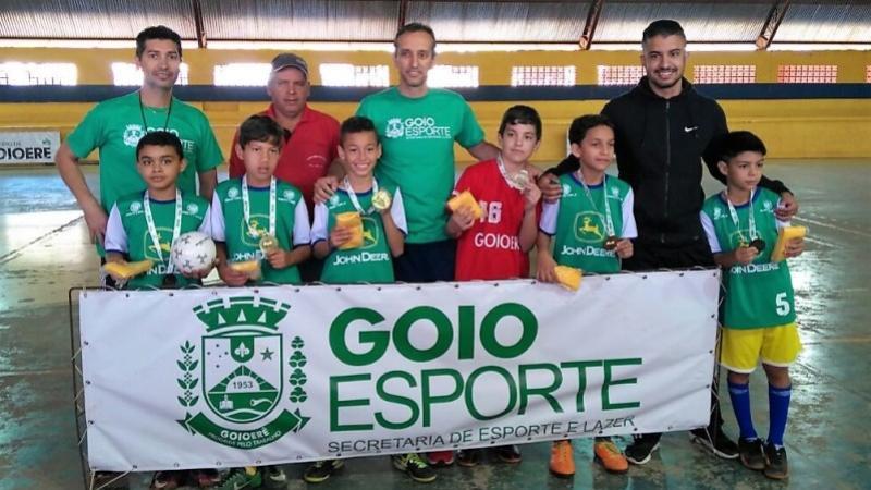 Copa integração de Futsal sub-10 foi finalizada com sucesso em Goioerê