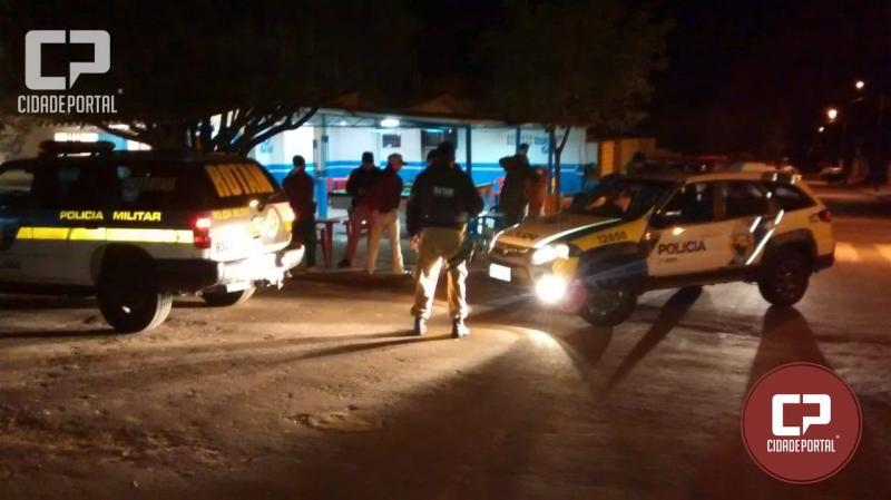 Polícia Militar de Goioerê realizou operação Arrastão na noite desta quinta-feira, 09