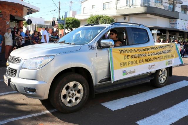 Prefeito Pedro Coelho cede veículo S10 do gabinete à Policia Militar em prol da segurança pública