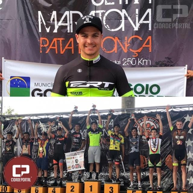 Ciclista Goioerense Victor Hugo Mostachio se destaca na Ultra Maratona Pata de Onça