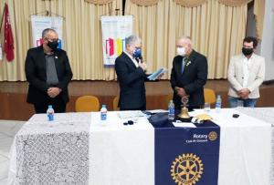 Rotary de Goioerê recebeu visita do Governador Joel Chaves